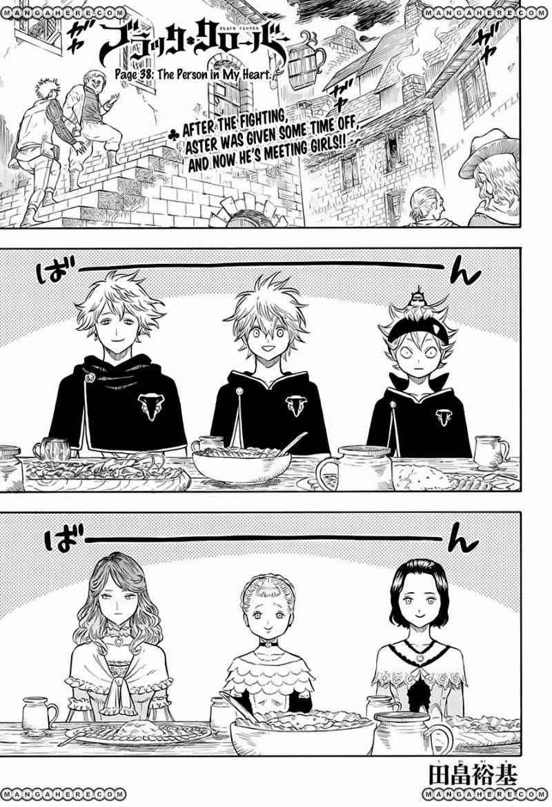 Black Clover 38 Page 1