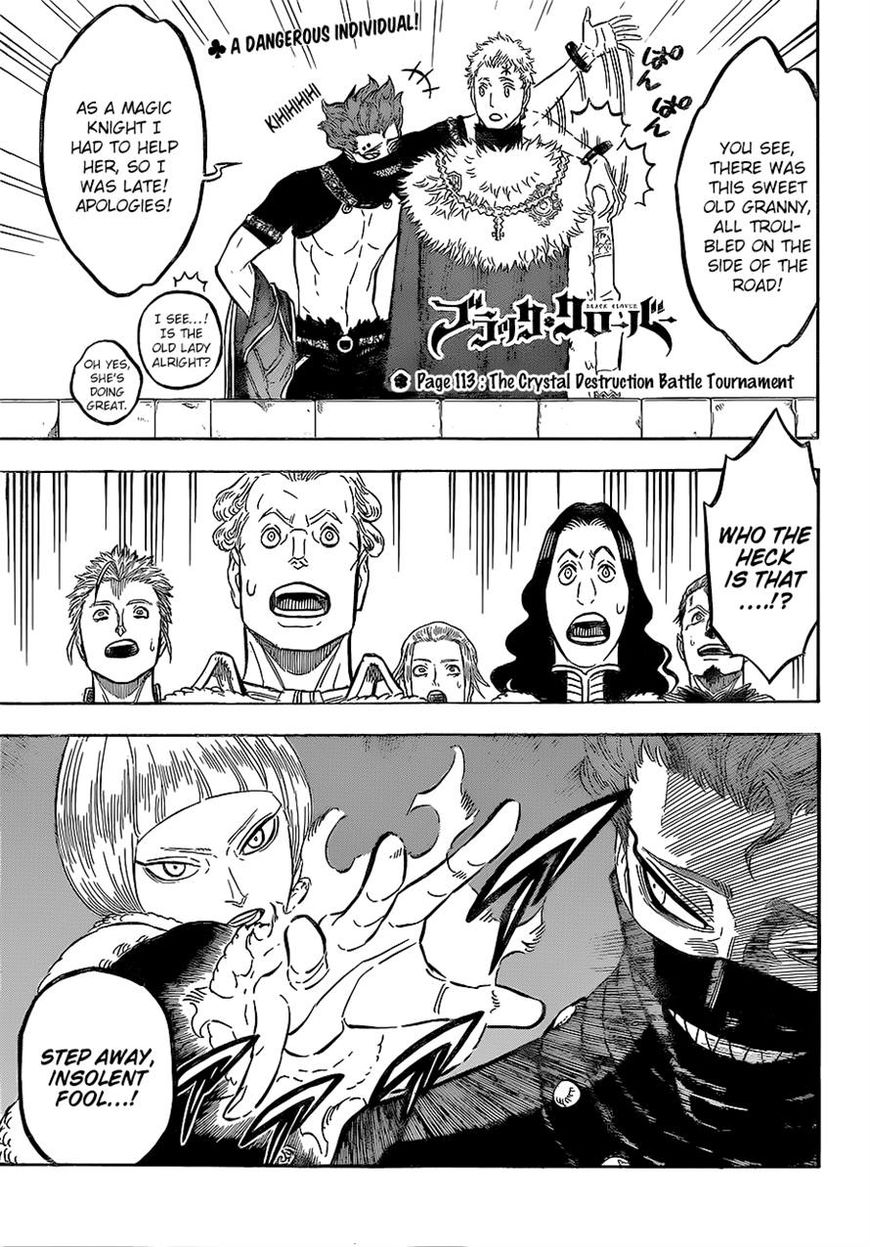 Black Clover 113 Page 1