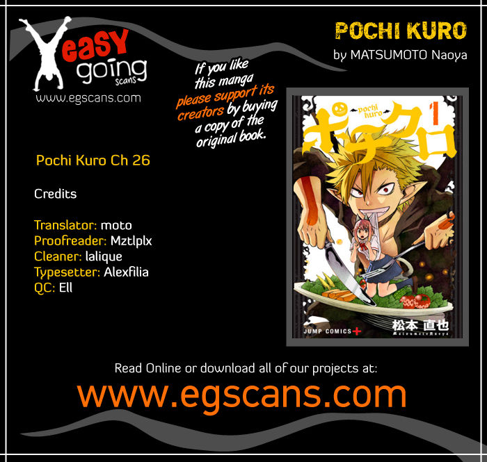 Pochi Kuro 26 Page 1