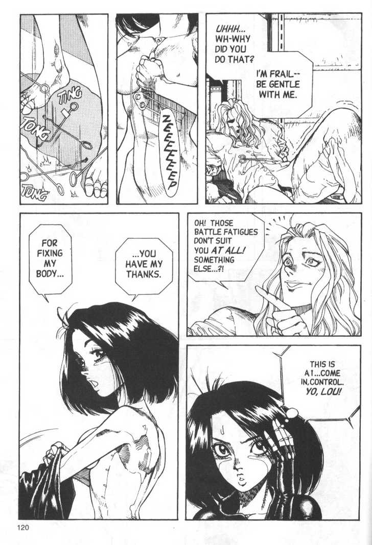 Battle Angel Alita 4 Page 4