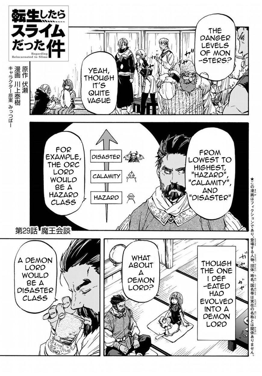 Tensei Shitara Slime Datta Ken 29 Page 1