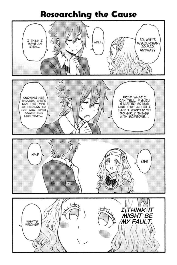 Tomo-chan wa Onnanoko! 191 Page 1
