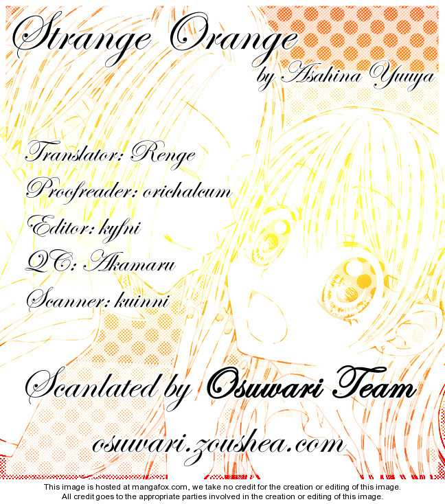 Strange Orange 7 Page 1