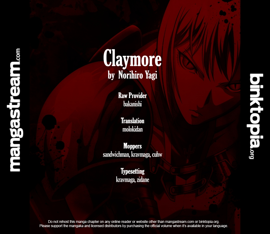 Claymore 105 Page 1
