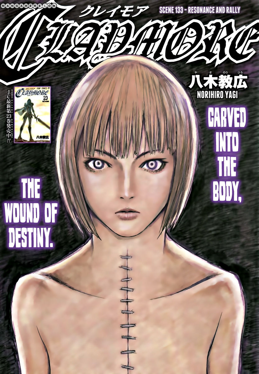 Claymore 133 Page 1