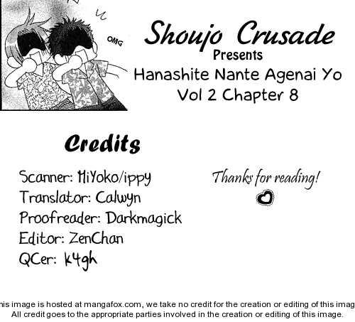 Hanashite Nante Agenai yo 8 Page 1