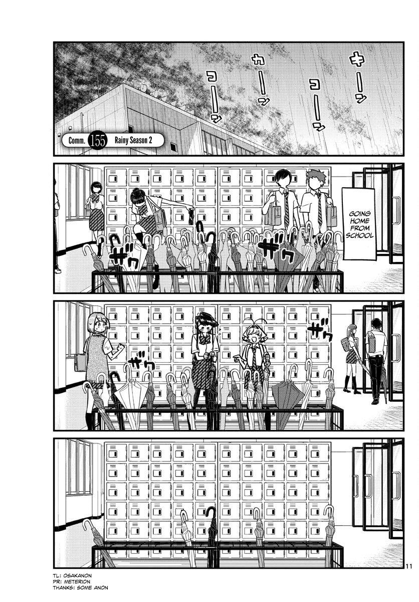 Komi-san wa Komyushou Desu 155 Page 1