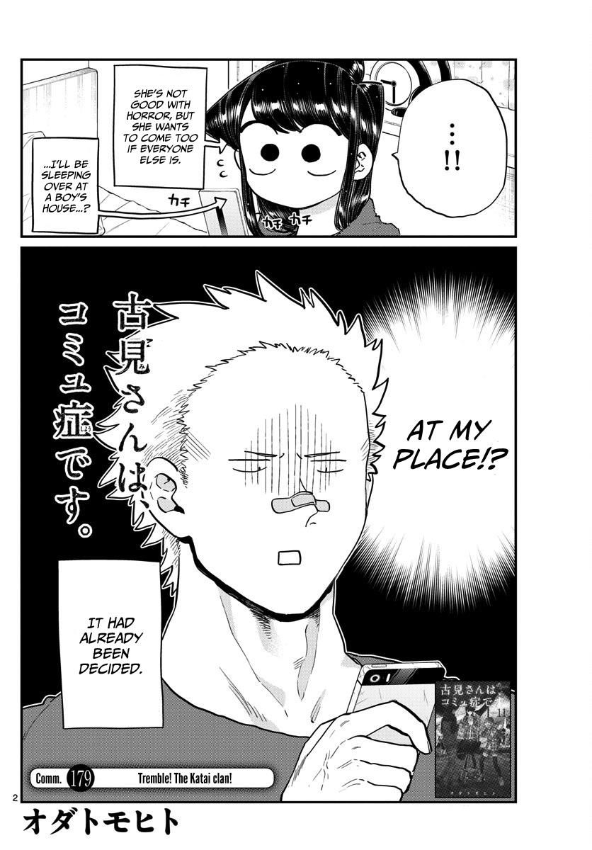 Komi-san wa Komyushou Desu 179 Page 2