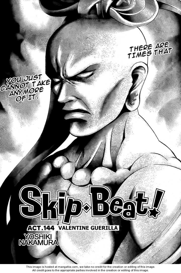 Skip Beat 144 Page 1
