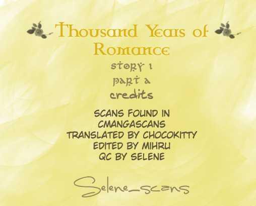 Thousand Years Romance 1.1 Page 2