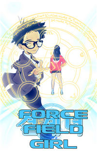 Force Field Girl