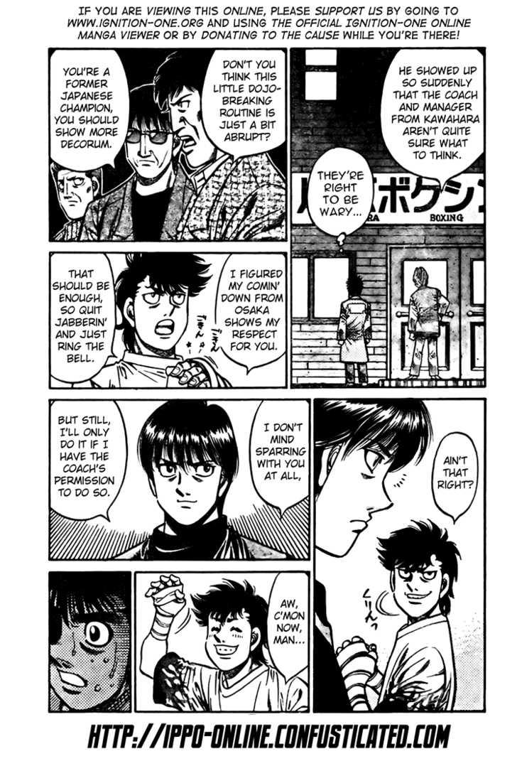 Hajime no Ippo 809 Page 3