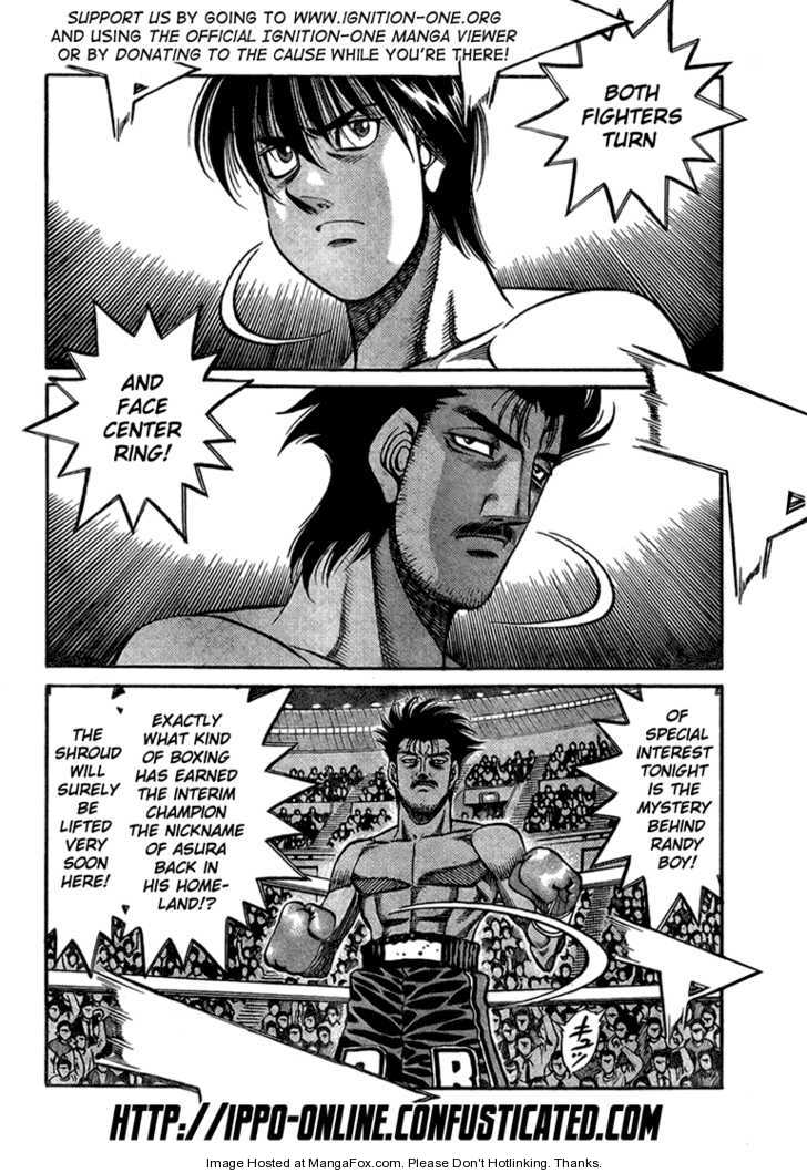 Hajime no Ippo 821 Page 2