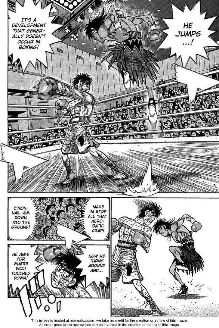 Hajime no Ippo 875 Page 2