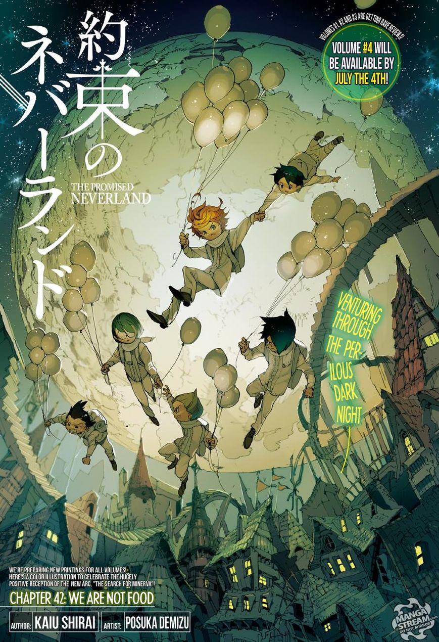 Yakusoku no Neverland 42 Page 1