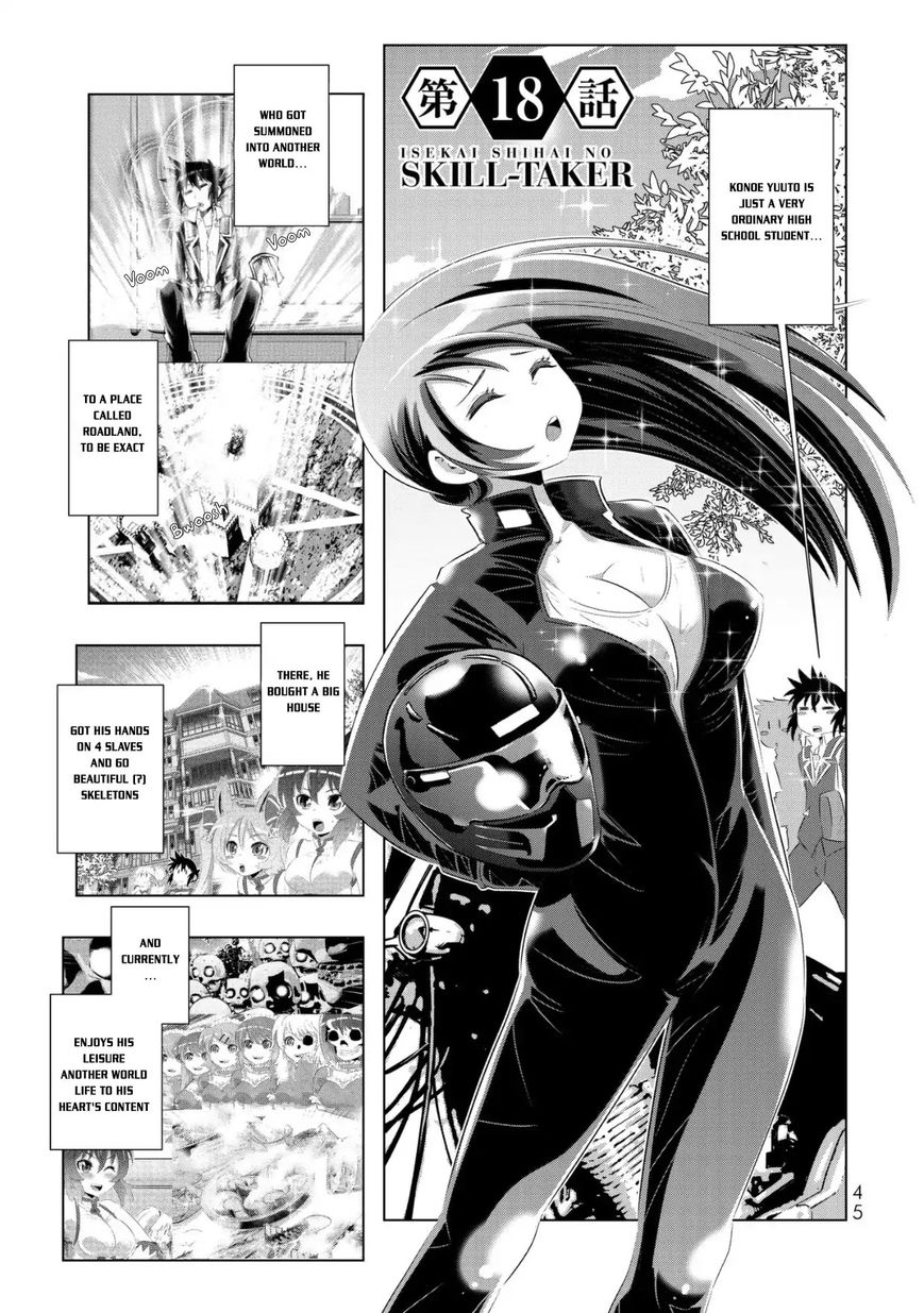 Isekai Shihai no Skill Taker: Zero kara Hajimeru Dorei Harem 35 Page 1