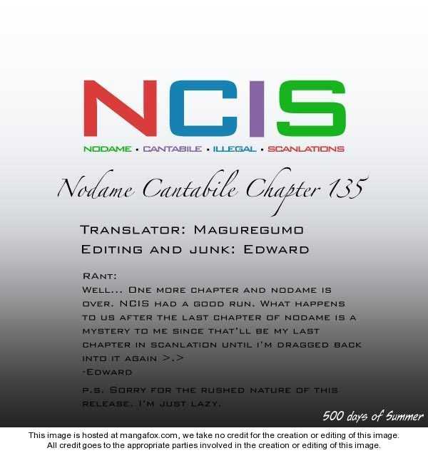 Nodame Cantabile 135 Page 1