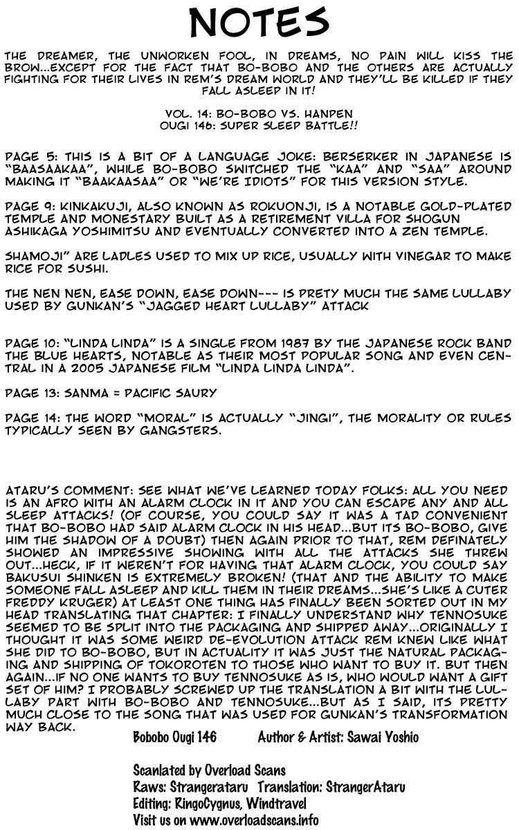 Bobobo-bo Bo-bobo 146 Page 1