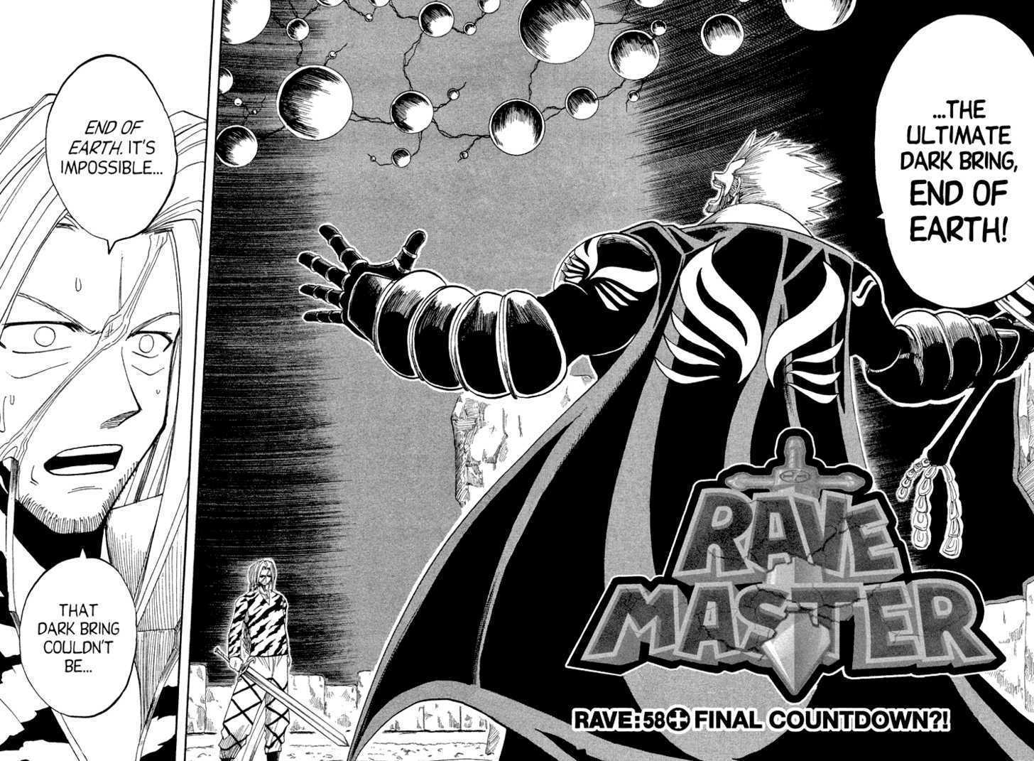 Rave Master 58 Page 1