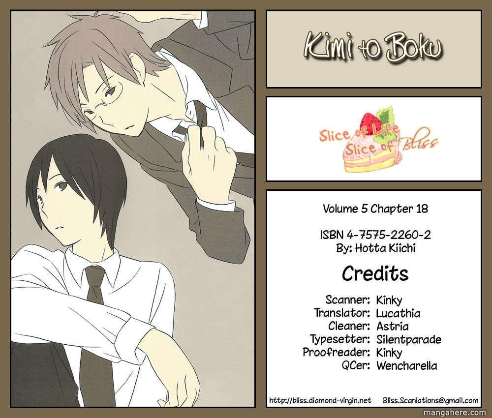 Kimi to Boku 18 Page 2