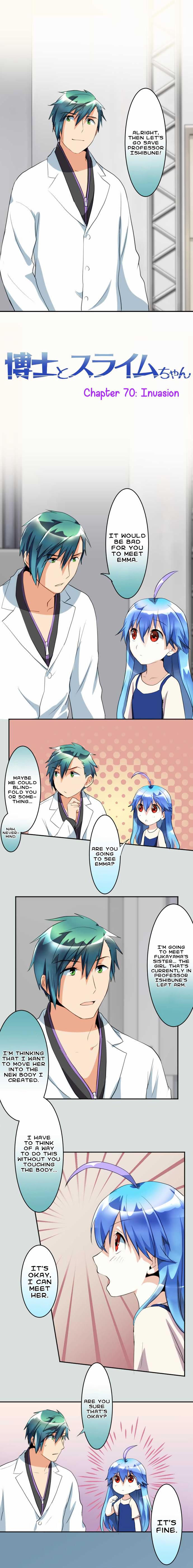 Hakase to Suraimu-chan 70 Page 2