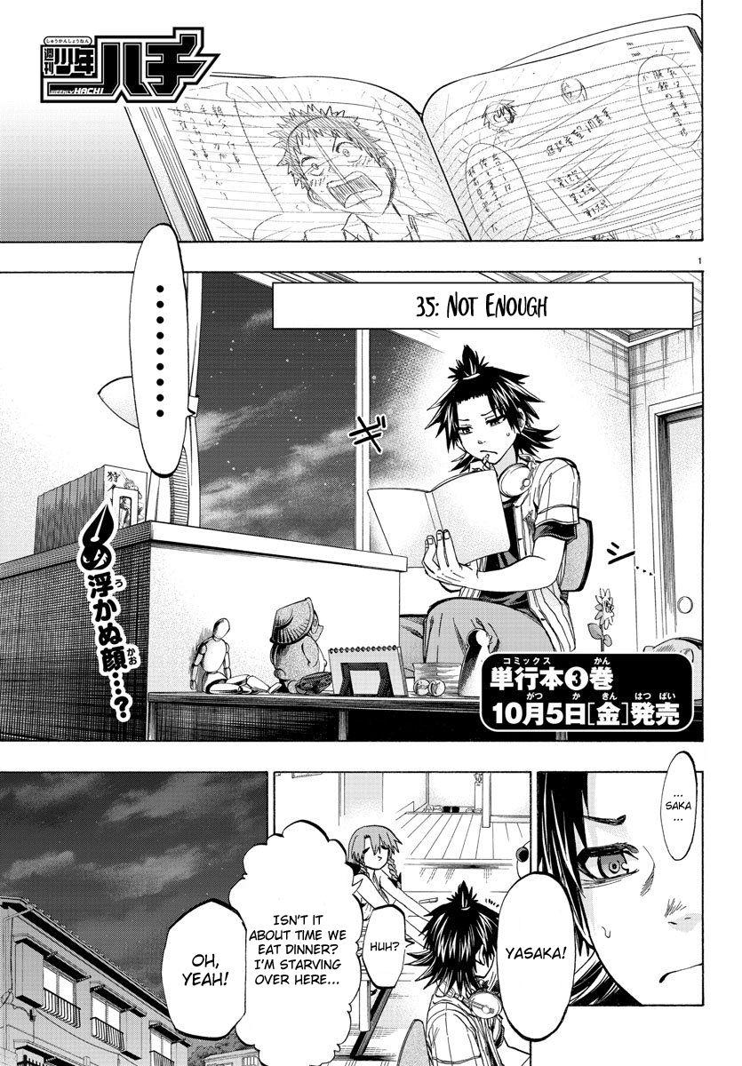 Shuukan Shounen Hachi 35 Page 1