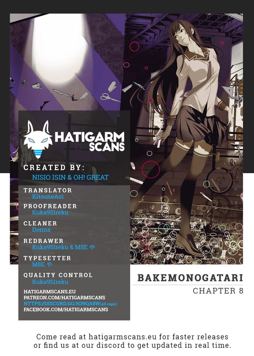 Bakemonogatari 8 Page 1