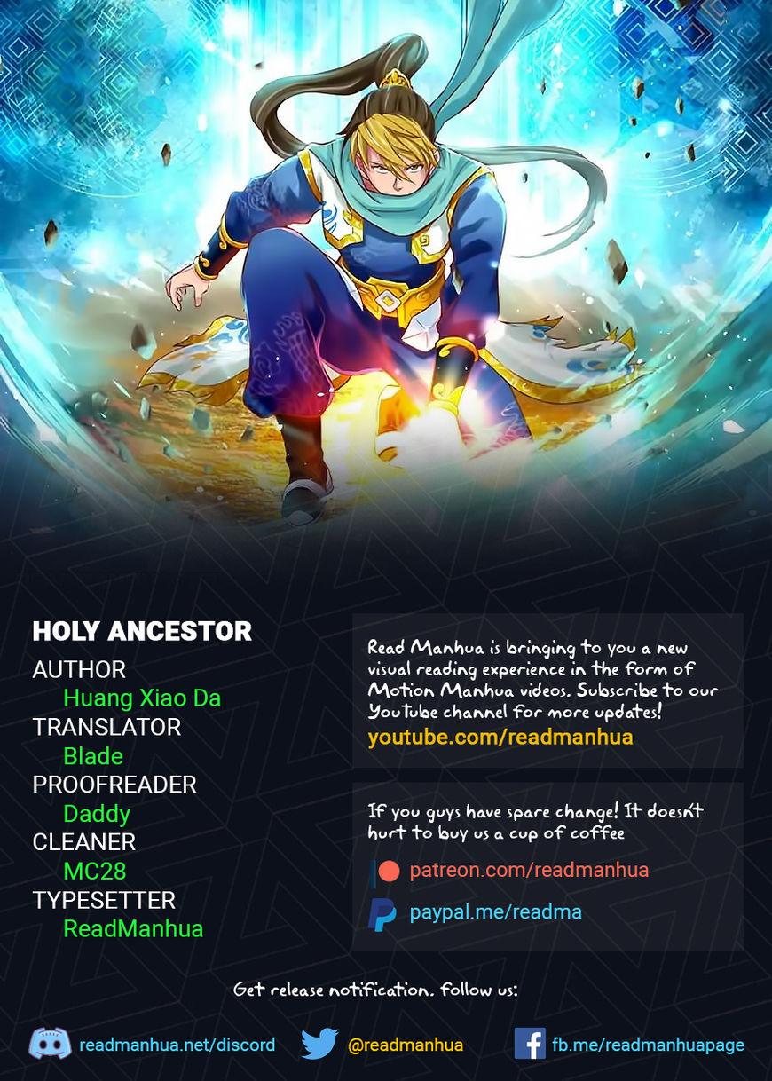 Holy Ancestor 13 Page 1