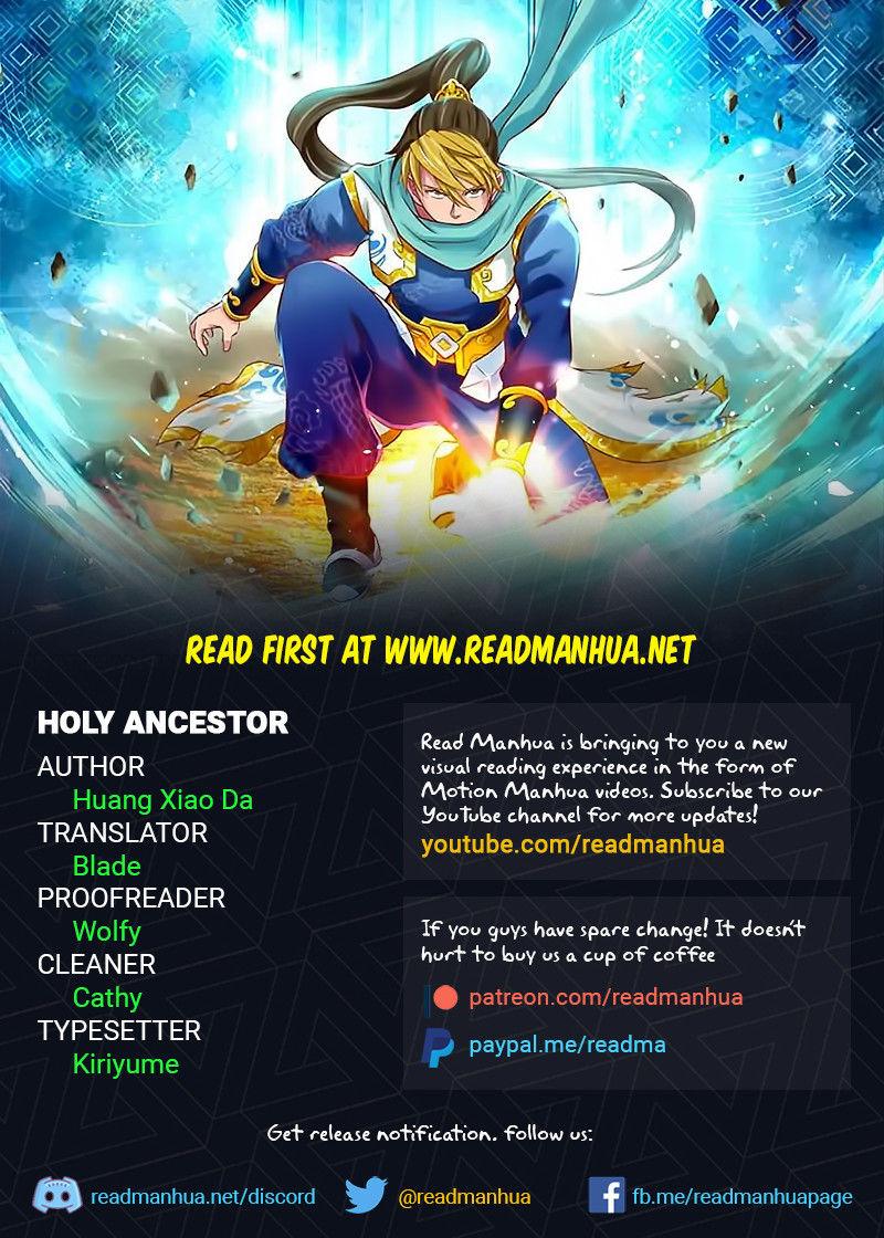 Holy Ancestor 34 Page 1