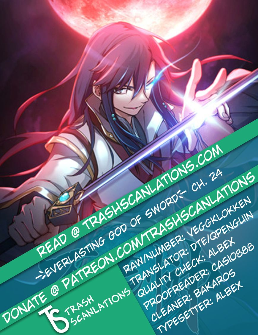 Everlasting God of Sword 24 Page 1