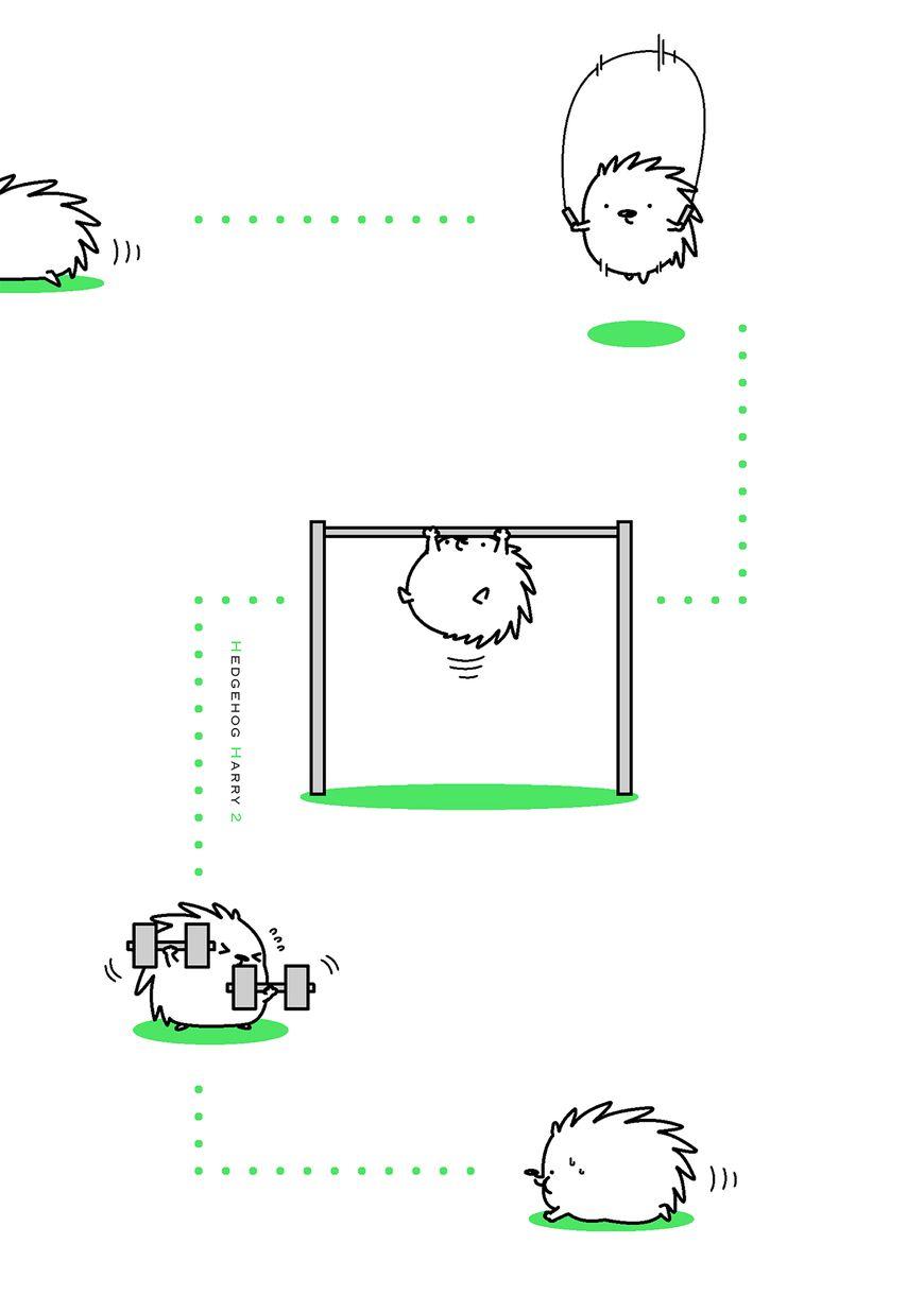 Hedgehog Harry 135 Page 2