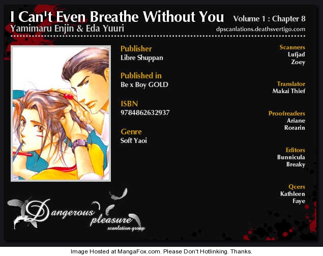 I Can't Even Breathe Without You 8 Page 2