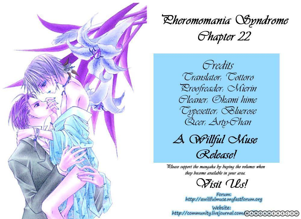 Pheromomania Syndrome 22 Page 1