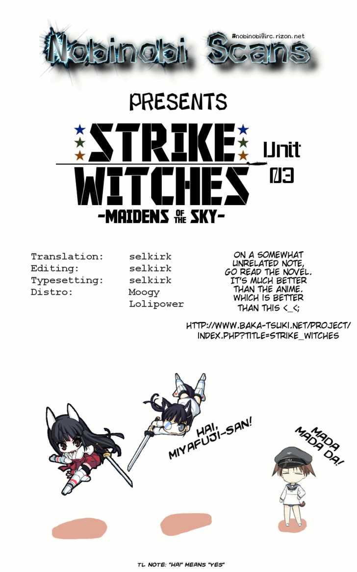 Strike Witches: Tenkou no Otometachi 3 Page 1