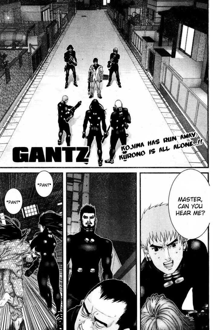 Gantz 182 Page 1