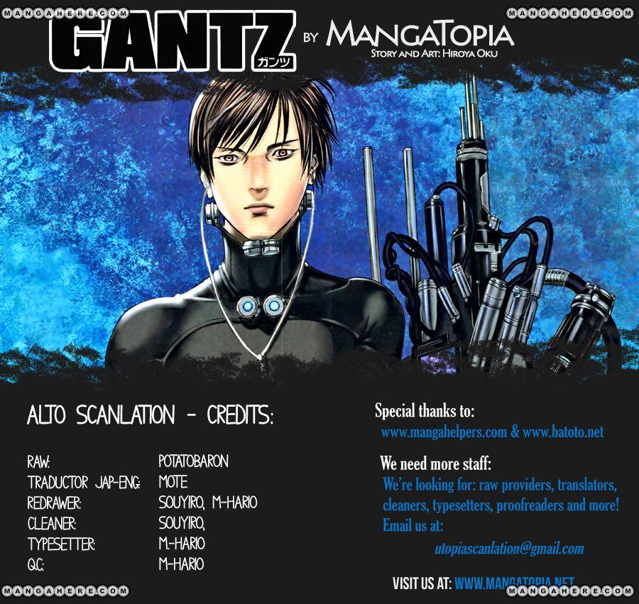 Gantz 359 Page 1
