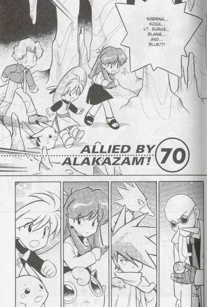 Pokemon Adventures 70 Page 1