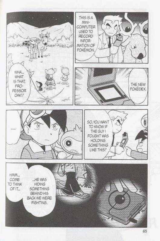 Pokemon Adventures 95 Page 1