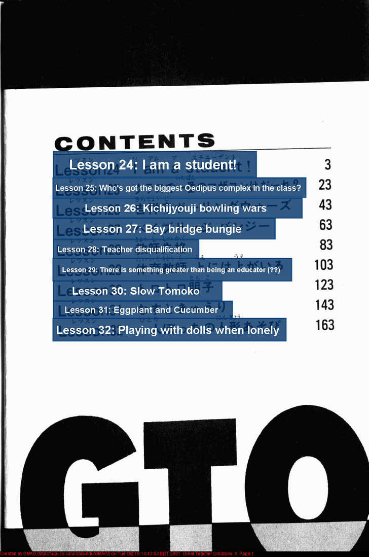 Great Teacher Onizuka 24 Page 2