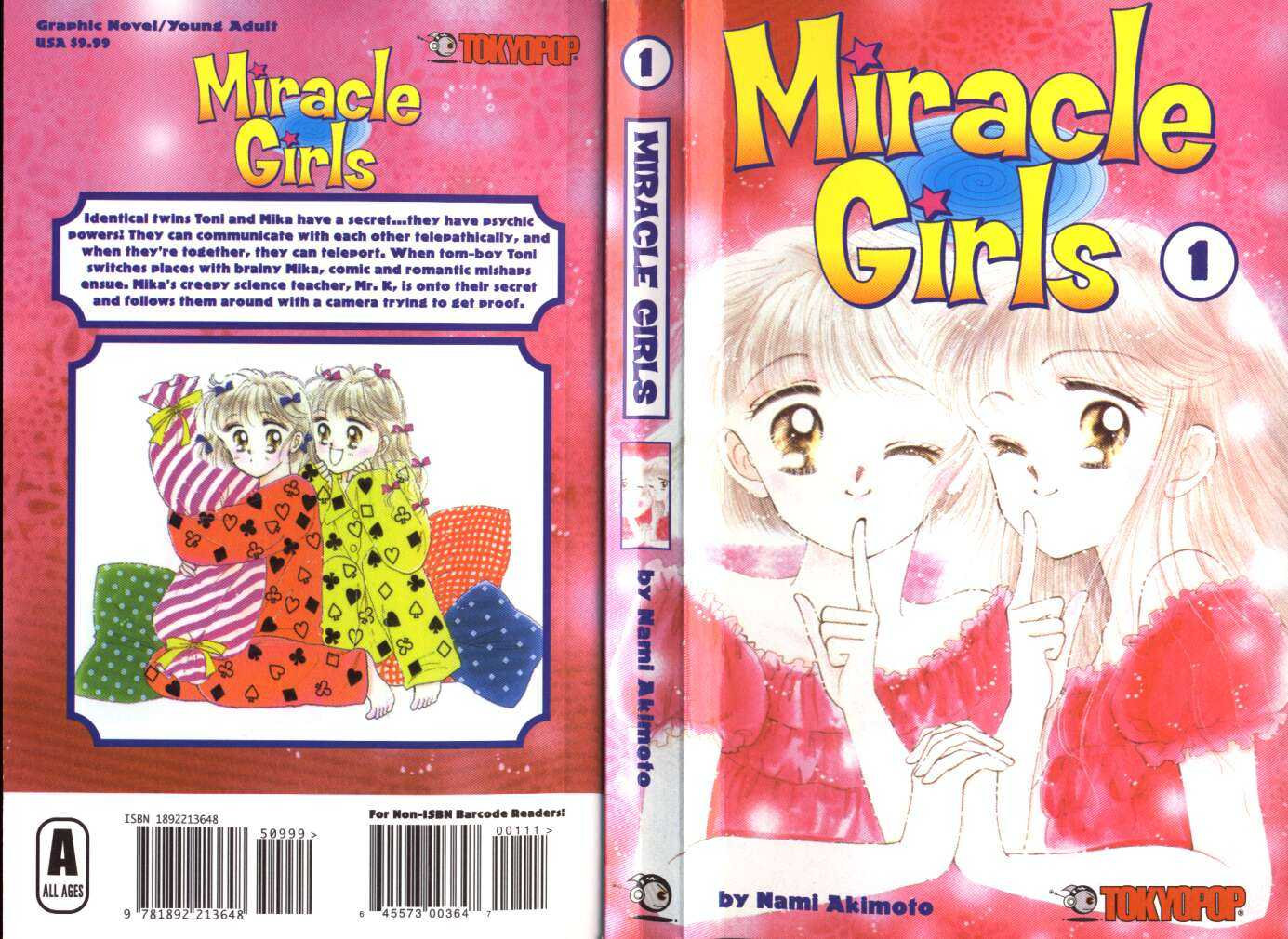Miracle Girls 0 Page 1