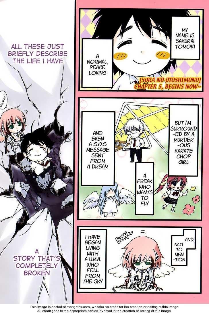 Sora no Otoshimono 5 Page 2