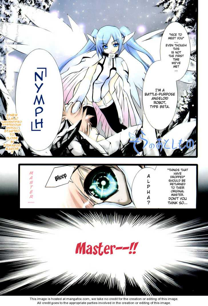 Sora no Otoshimono 10 Page 1