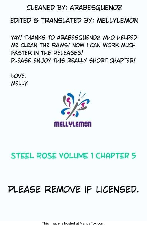 Steel Rose 5 Page 1