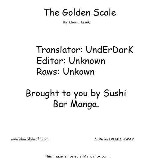 Golden Scale 1 Page 1