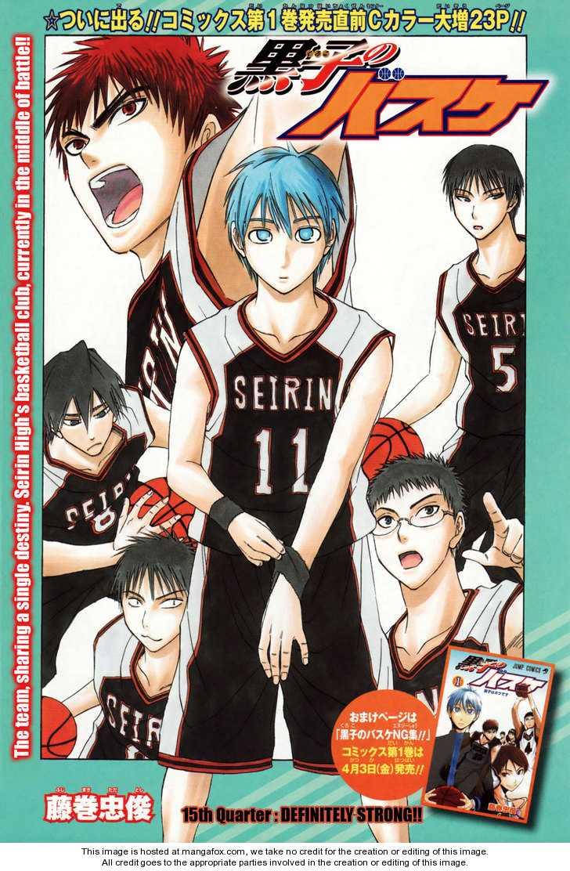 Kuroko no Basket 15 Page 2