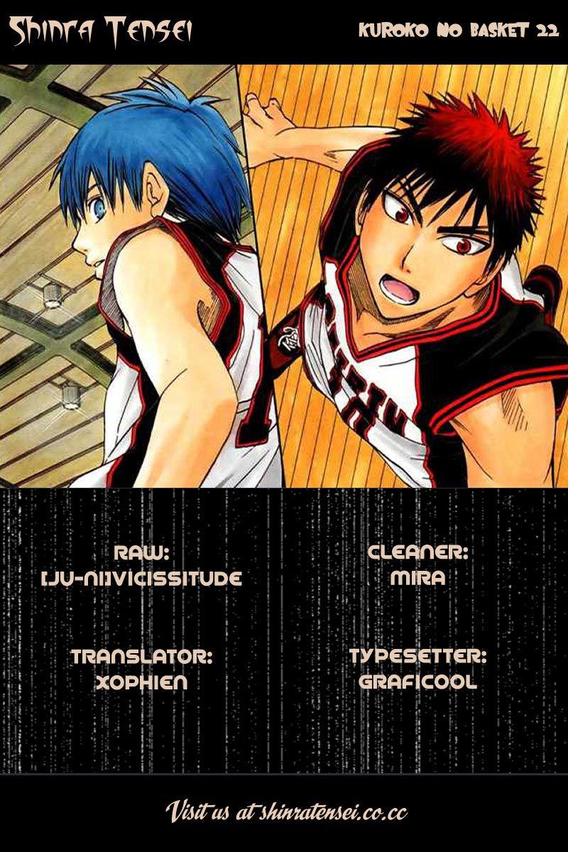 Kuroko no Basket 22 Page 1
