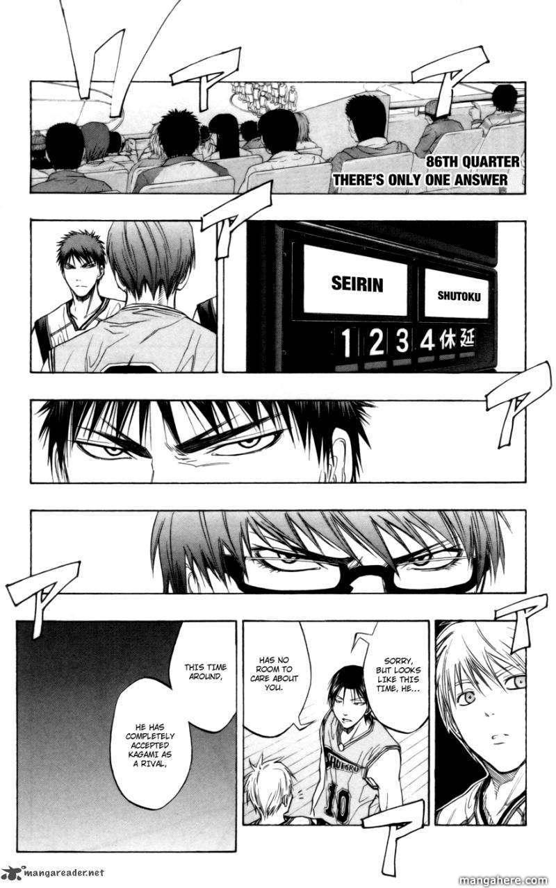 Kuroko no Basket 86 Page 1
