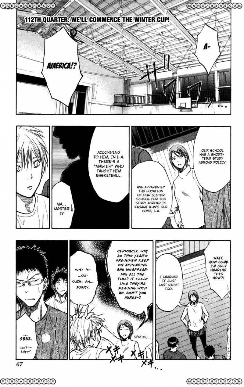 Kuroko no Basket 112 Page 1