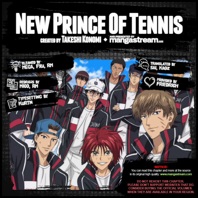 New Prince of Tennis 137 Page 2