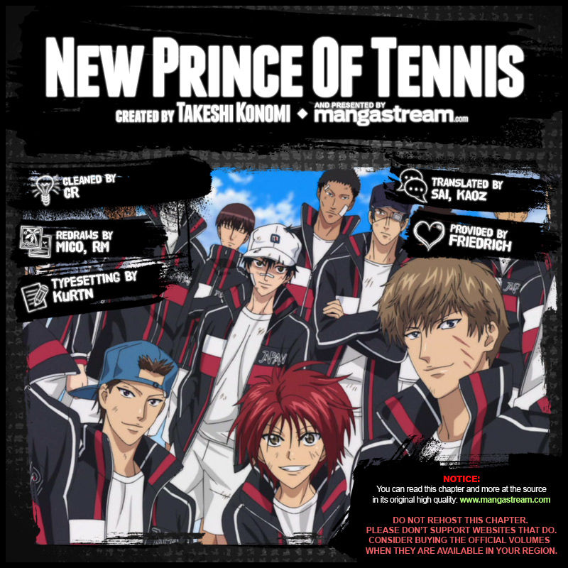 New Prince of Tennis 138 Page 2